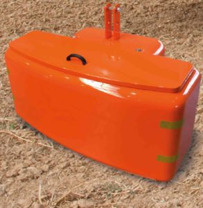 Front Mounted Eco-Box Composite Toolbox Weights